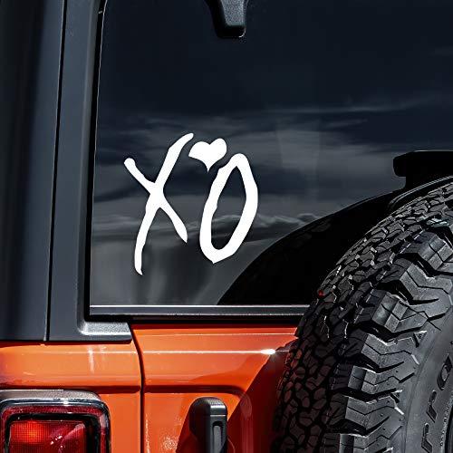 """6"""" The Weekend XO Vinyl Sticker Car Truck Window Laptop MacBook Wall Art Decal"""
