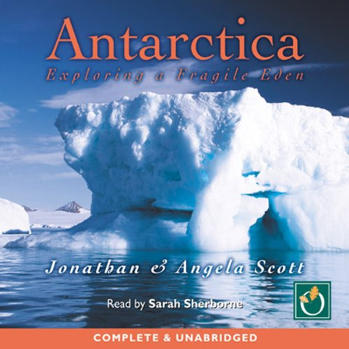 Antarctica audiobook cover art