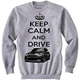 TEESANDENGINES Men's Mini Cooper Inspired Keep Calm & Drive...