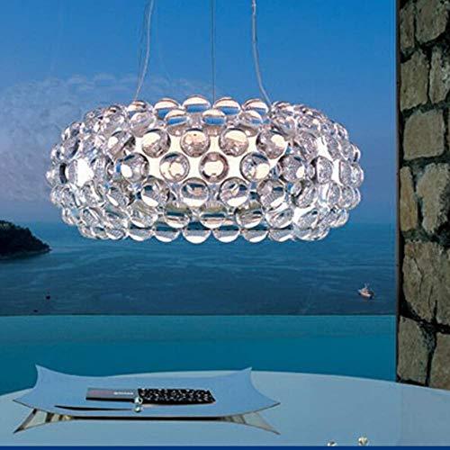 5151BuyWorld Lampe Minimalist Acryl Zeus Sweat Ion Caboche Pendelleuchten Für Dinning Raum Moderne Hängependelleuchte Top Qualität {50cm Golden}