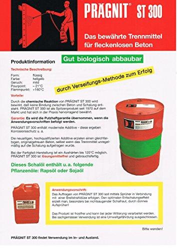 5,0 Liter ES Schalöl Trennmittel für Beton