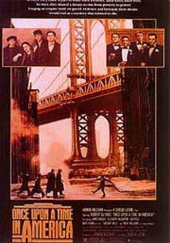 Once Upon A Time In America Poster di grandi dimensioni, 100 x 70 cm (circa).