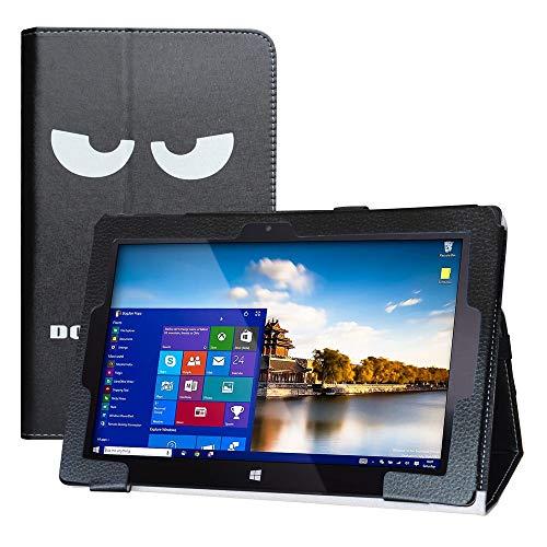 LFDZ Cover Fusion5 FWIN232 PRO,Slim Ultra Pelle Sottile e Leggera Cover Case Custodia per 10.1' Fusion5 FWIN232 PRO / FWIN232 Plus Tablet(Non Compatibile Fusion5 FWIN232),Don't Touch