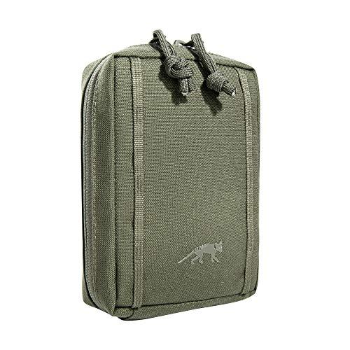Tasmanian Tiger TT Tac Pouch 1.1 Rucksack Zusatz-Tasche Molle-System kompatibel, Zubehör-Tasche für EDC, Werkzeug oder kleine Erste Hilfe Sets; 15 x 10 x 4 cm, Olive
