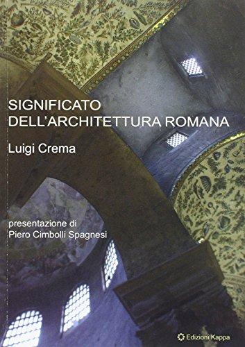Significato dell'architettura romana