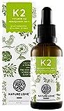 NATURE LOVE® Vitamin K2 MK-7 Tropfen, 200µg, 50ml