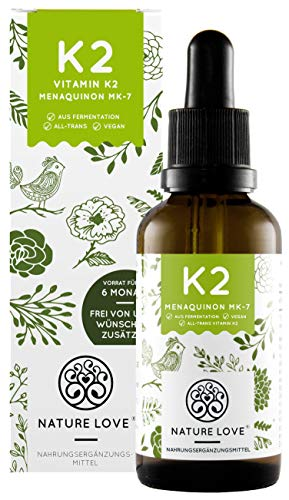NATURE LOVE® Vitamin K2 MK-7-200µg...