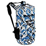 Buffalo Gear Portable Insulated Backpack Cooler Bag - Hands-Free and Collapsible, Waterproof and...