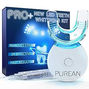 Pro+ Teeth Whitening Kit LED Light 2 Syringes