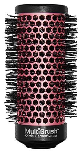 Olivia Garden MultiBrush Bürstenkörper für Profi-Rundbürste (antistatisch), keramikbeschichtet, als Lockenwickler verwendbar (Griff separat erhältlich), Durchmesser 46 mm, für mittellanges Haar