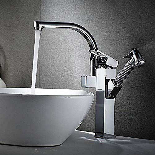 LHQ-HQ Latón caliente y frío solo grifo del lavabo frío todo el cobre sensor grifo Hotel compras automático caliente inteligente lavabo oro/plata/negro/cerámica/cromo