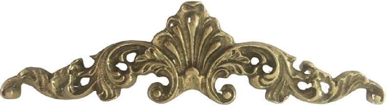 Aplique De Bronze Para Arcas Cristaleiras Cômodas Mesas Móveis