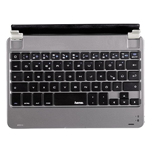 Hama KEY2GO X2100 Bluetooth-Tastatur mini (für Apple iPad mini/mini 2/mini 3) anthrazit