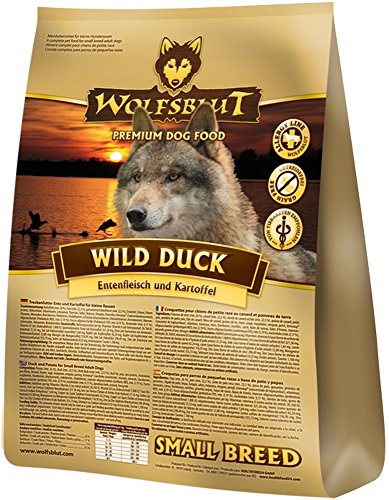 Wolfsblut   Wild Duck Small Breed   15 kg   Ente   Trockenfutter   Hundefutter   Getreidefrei