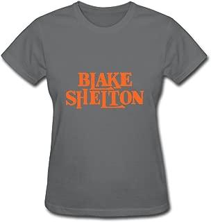 Blake Shelton Popular 2016 Tour Women T Shirt White