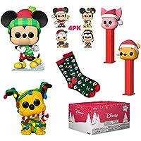 Funko Pop! Disney Holiday Collectors Box with 2 Pop! Vinyl Figures