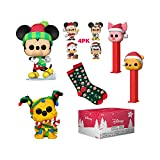 Funko Pop! Disney Holiday Collectors Box - with 2 Pop! Vinyl Figures, Amazon Exclusive (51427)