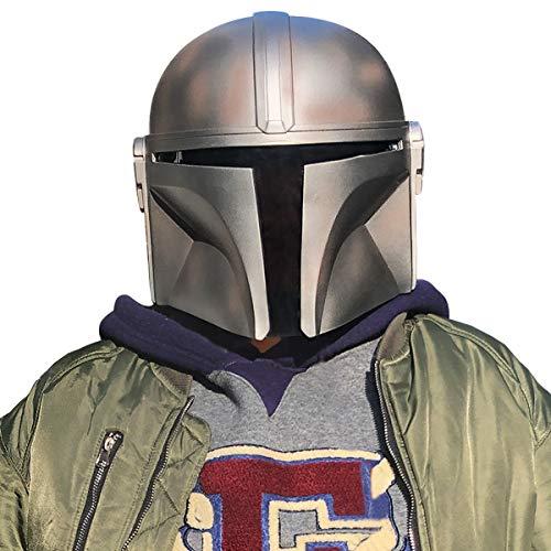 yacn El Casco mandaloriana Star Wars de los Hombres PVC Má