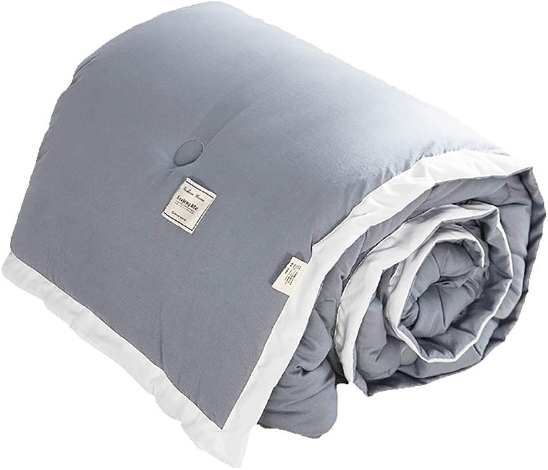 DULPLAY Polyester Down édrougeons Quilts Douceur, Hypo-allergénique édrougeons Couette Couvertures Respirabilité Double couettes-A 200x230cm(79x91inch)