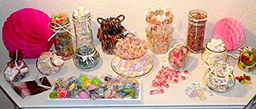 Candy Bar Komplett Set !!!! Inkl. 14kg Süßwaren! Zubehör! Gläser! Top!