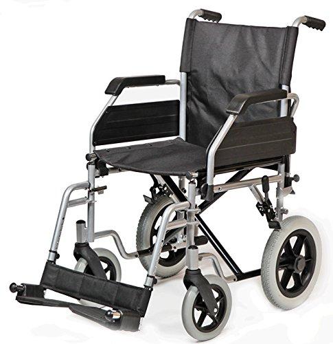 "Ayudas Dinámicas - Silla plegable""apolo"" rueda 300,talla 43 cm ⭐"