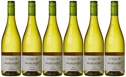 LaCheteau Vin Muscadet AOP 75 cl - Lot de 6