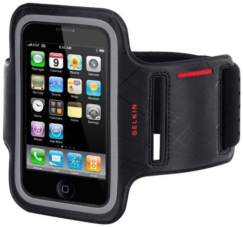Belkin DualFit Sports Armband - Brazalete para Apple iPhone 3G, negro