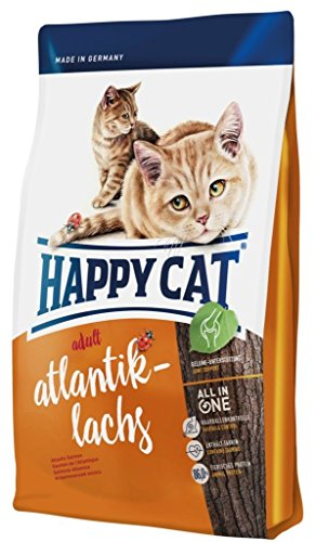 Happy Cat Katzenfutter 70034 Adult Atlantik-Lachs 10 kg