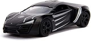 Lykan Hypersport Hard Top, Black Panther - Jada 30302 - 1/32 Scale Diecast Model Toy Car