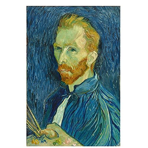 Reproducciones de pintura al óleo vintage del famoso Van Gogh Café, carteles y grabados nórdicos, cuadros en lienzo sin marco A3 20x30cm
