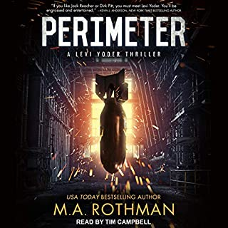 Perimeter audiobook cover art