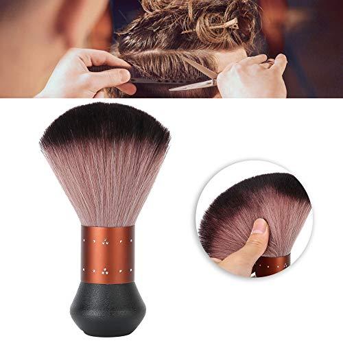 Professionelle Faser-Haarstaubbürste, Haarausschnitte Reinigung Kehrbürste Haarschneiden Styling Gebrochenes Haar Fegen Gesichtsstaubtuch Bürste Haarbesen Haarbürste