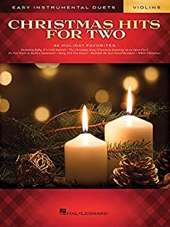 Christmas Hits for Two Violins: Easy Instrumental Duets
