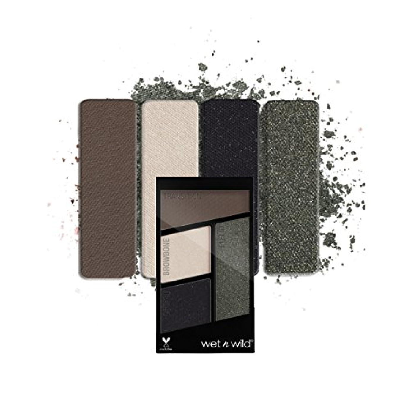 影響力のあるアンティークインフルエンザ(3 Pack) WET N WILD Color Icon Eyeshadow Quad - Lights Out (並行輸入品)