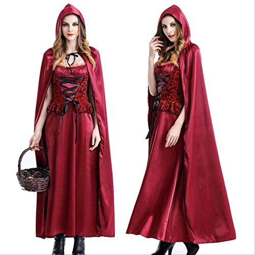 Disfraz De Cosplay De Caperucita Roja Para Adultos De Alta Calidad Vestido De Bruja Gótica Punky Sexy Para La Fiesta De Halloween Disfraz De Reina De Vampiros M Caperucita Roja