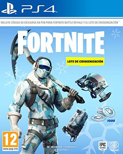 Fortnite: Lote De Criogenizacion (La caja contiene codigo de descarga)