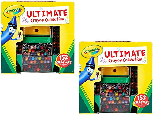 Ultimate Crayon Collection Coloring Set, Gift Age 3+ - 152 Count (Pack of 2)