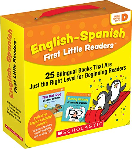 English-Spanish First Little Readers: Guided Reading Level D (Parent Pack): 25 Bilingual Books That Are Just the Right Level for Beginning Readers
