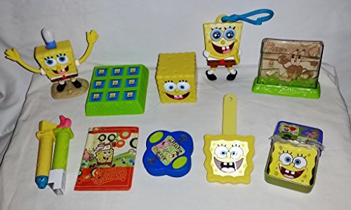 Burger King Spongebob - Friend or Foe - Complete Kid's Meal set - 2006