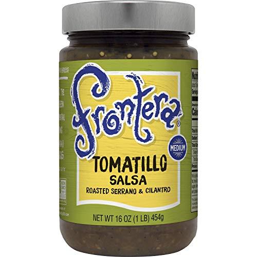 Frontera Salsa, Tomatillo, Medium, 16 oz