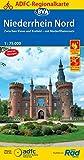 ADFC-Regionalkarte Niederrhein Nord mit Tagestouren-Vorschlägen, 1:75.000, reiß- und wetterfest, GPS-Tracks Download: Zwischen Kleve und Krefeld - mit ... bis Nijmegen (ADFC-Regionalkarte 1:75000)