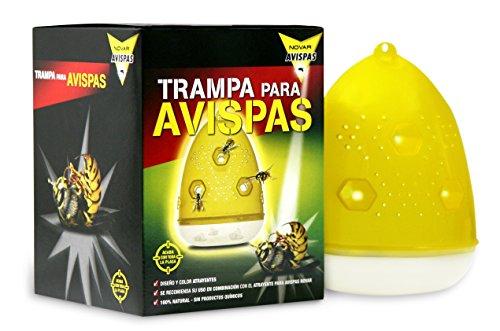 Novar - Avispas trap-tampa ecologica caja 1 unidad.