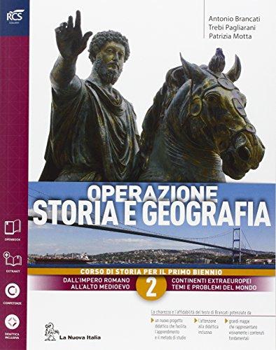 Operazione storia e geografia. Con extrakit-Openbook. Per le Scuole superiori. Con e-book. Con espansione online (Vol. 2)