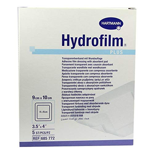 HYDROFILM Plus Transparentverband 9x10 cm 5 St Verband