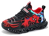 Malltea Spiderman Leuchtende Schuhe für Kinder Jungen und Mädchen, Sportschuhe, leicht, legere,...