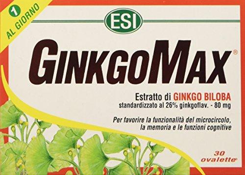 Esi Ginkgomax Integratore alimentare - 30 Ovalette