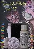 Búho Espejo especial efecto Juego 12Halloween maquillaje