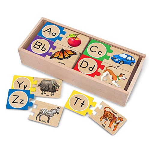 Melissa & Doug Self-Correcting Letter Puzzles