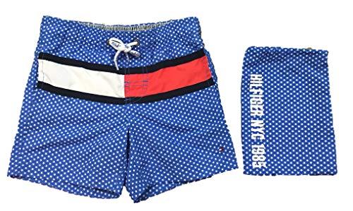 Tommy Hilfiger zwembroek Star Flag, blauw, 4 jaar