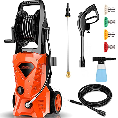 Suyncll Pressure Washer 1950PSI Electric Power...